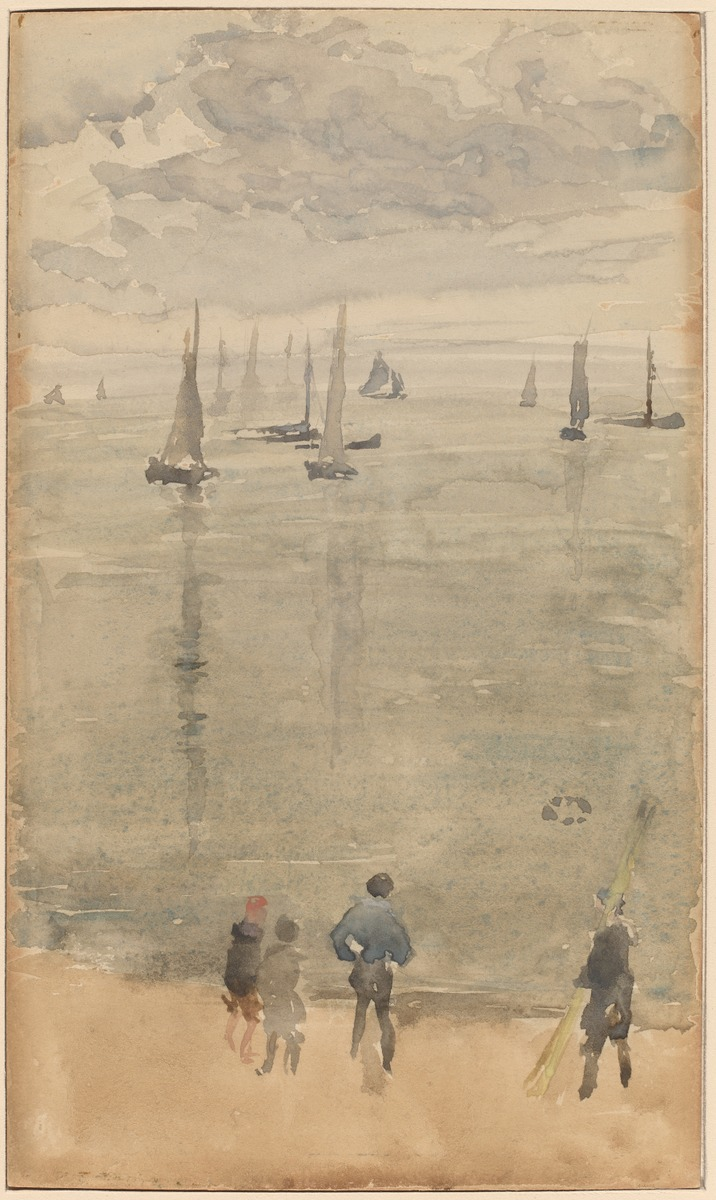 James McNeill Whistler The Return of the Fishing Boats