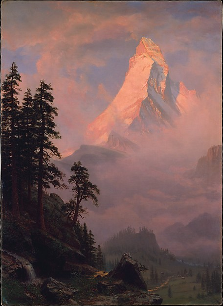 MET - Sunrise on the Matterhorn